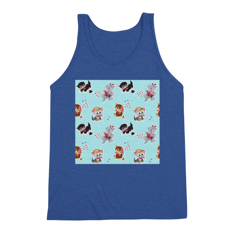 Zombie Cats Men's Tank by anion2's Artist Shop