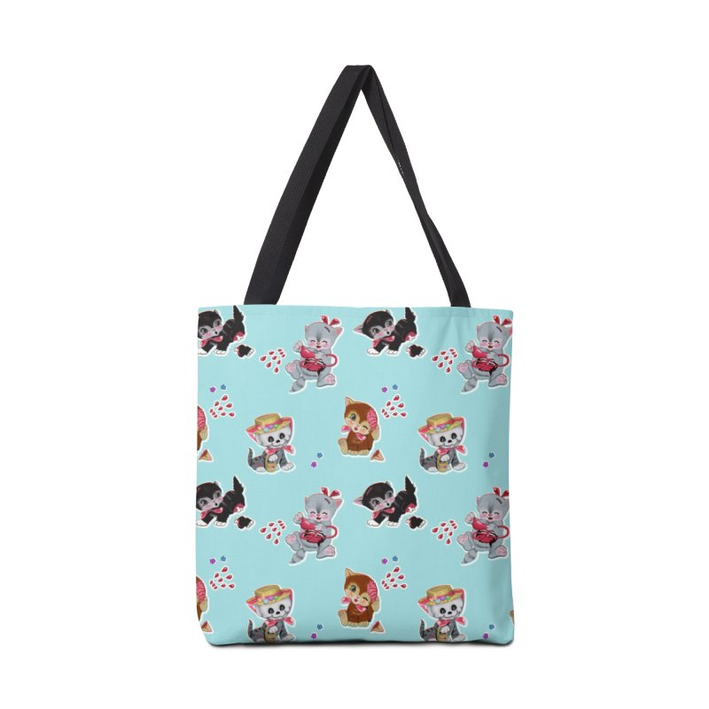 Zombie Cats Accessories Bag by anion2's Artist Shop