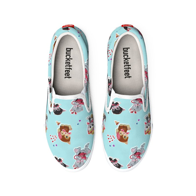 Zombie Cats Men's Shoes by anion2's Artist Shop