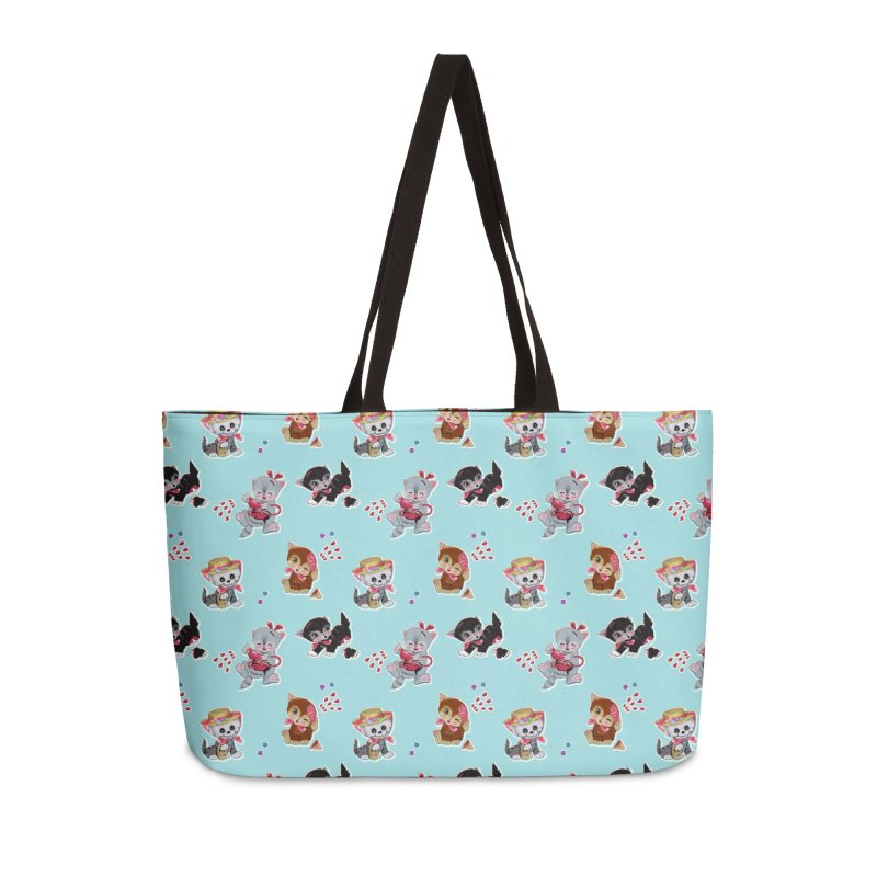 Zombie Cats Accessories Weekender Bag Bag by anion2's Artist Shop