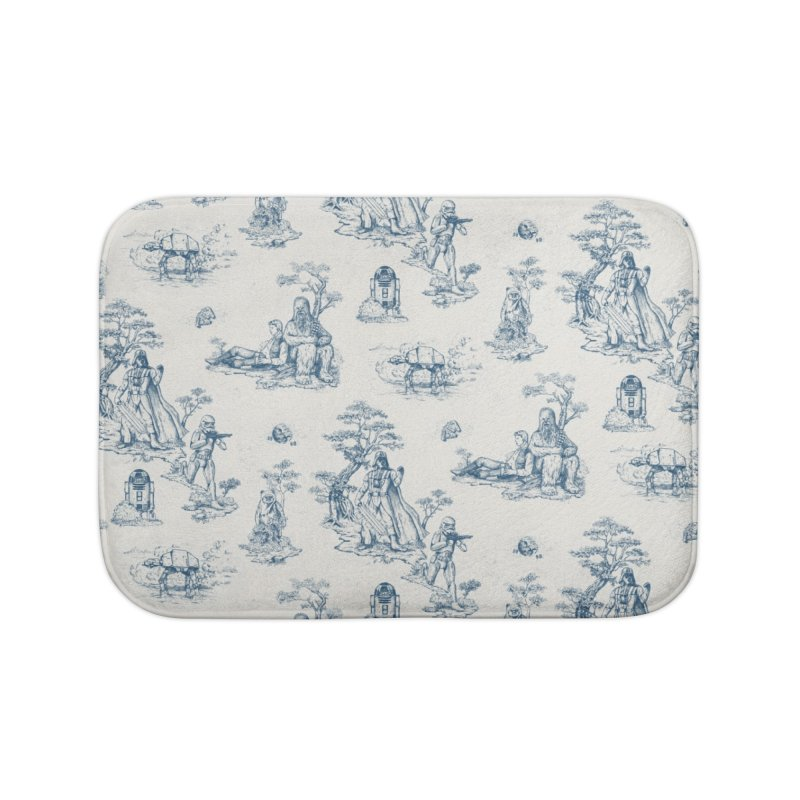 Toile de Star Wars Home Bath Mat by anion2's Artist Shop
