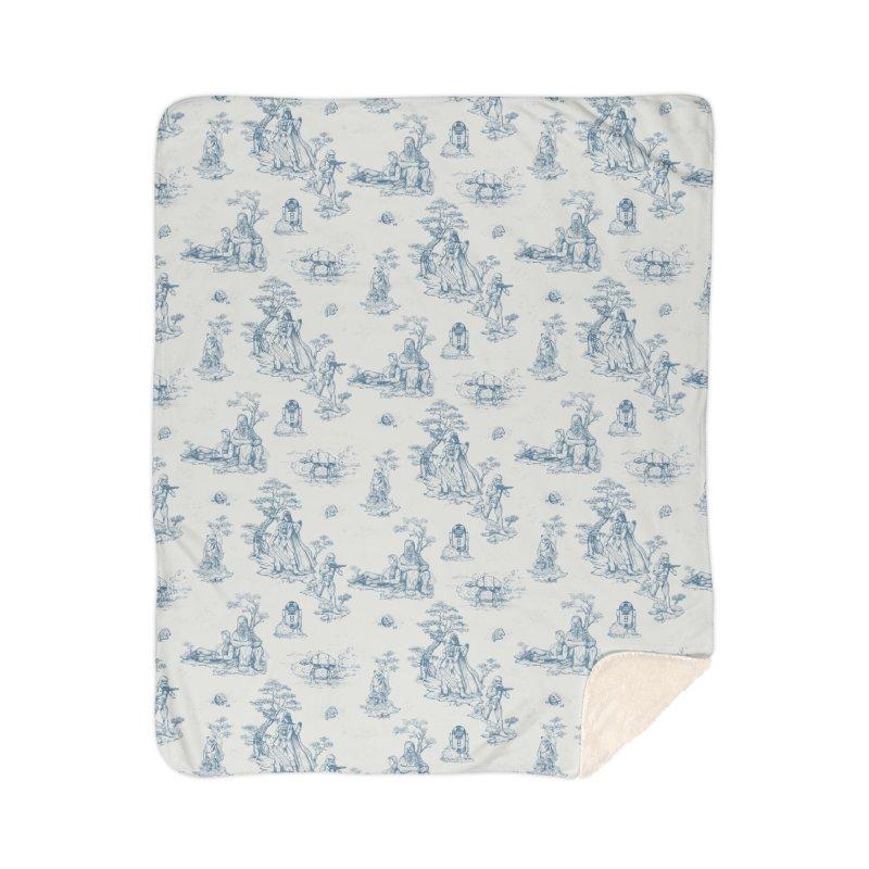 Toile de Star Wars Home Sherpa Blanket Blanket by anion2's Artist Shop