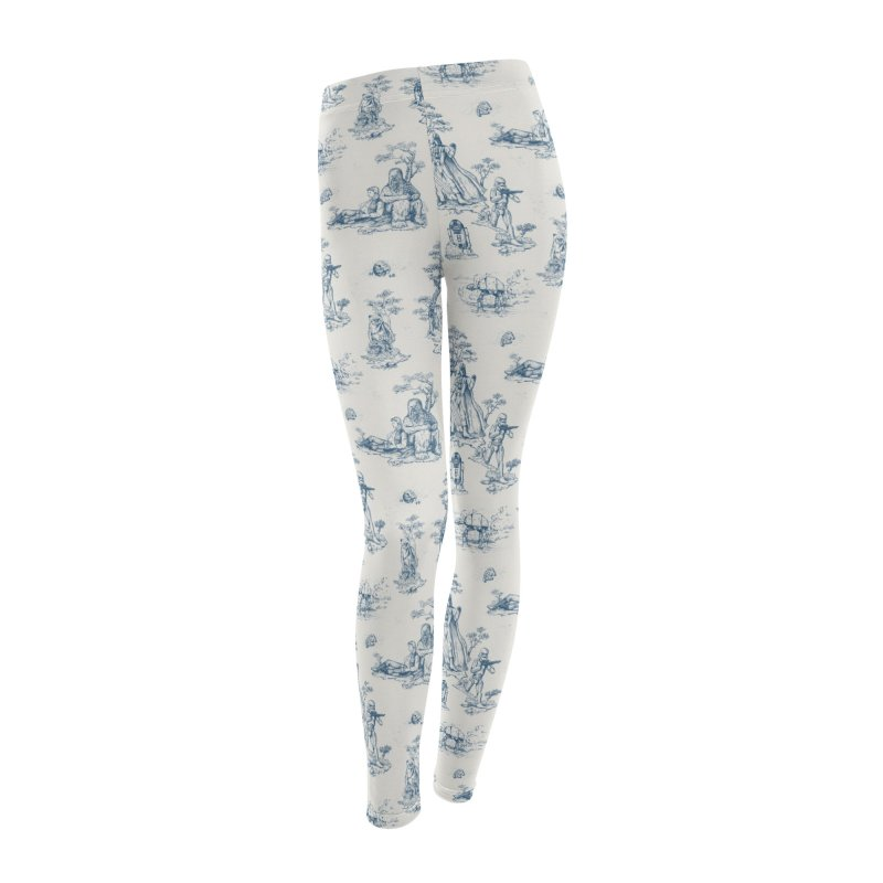 Toile de Star Wars Women's Leggings Bottoms by anion2's Artist Shop