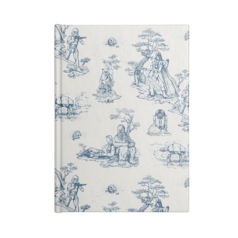 Toile de Star Wars Accessories Lined Journal Notebook by anion2's Artist Shop