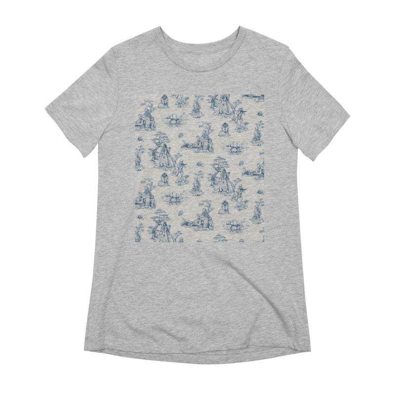 Toile de Star Wars Women's Extra Soft T-Shirt by anion2's Artist Shop