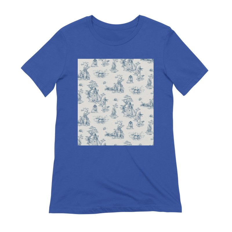 Toile de Star Wars Women's T-Shirt by anion2's Artist Shop
