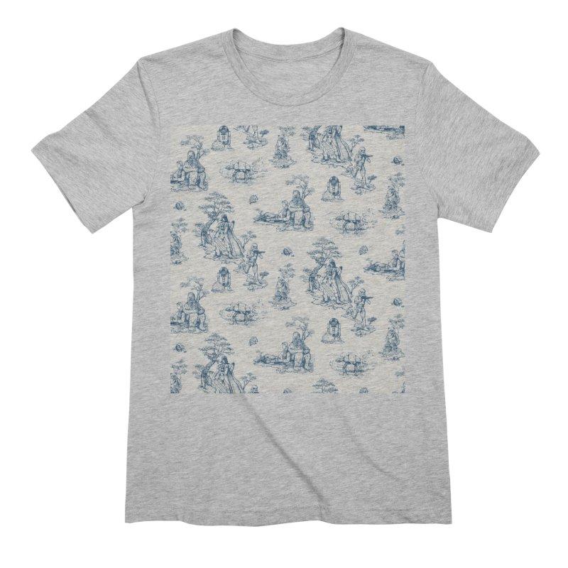 Toile de Star Wars Men's T-Shirt by anion2's Artist Shop