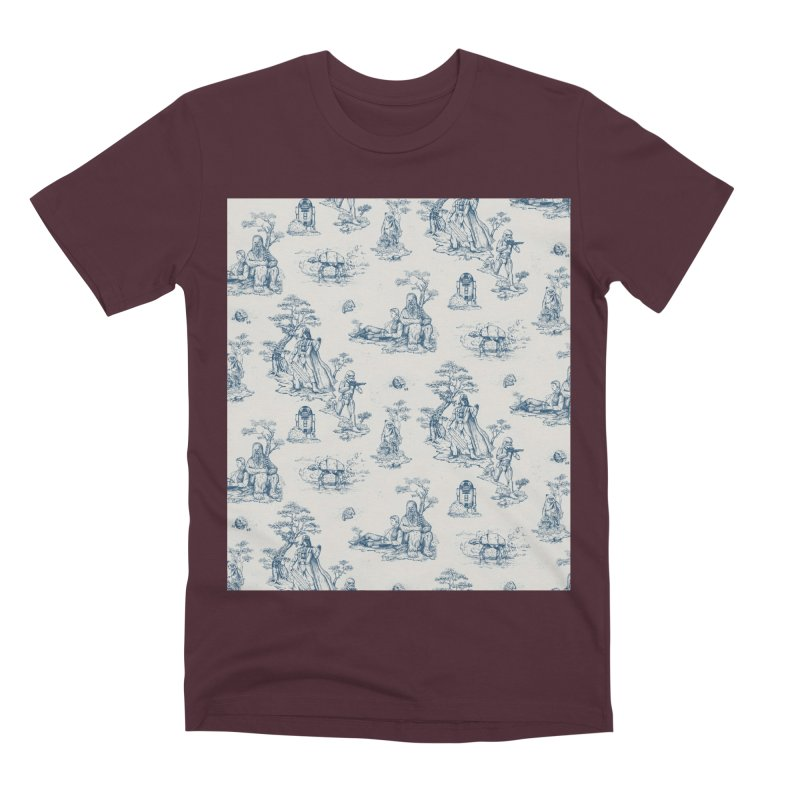 Toile de Star Wars Men's T-Shirt by anion2's Artist Shop