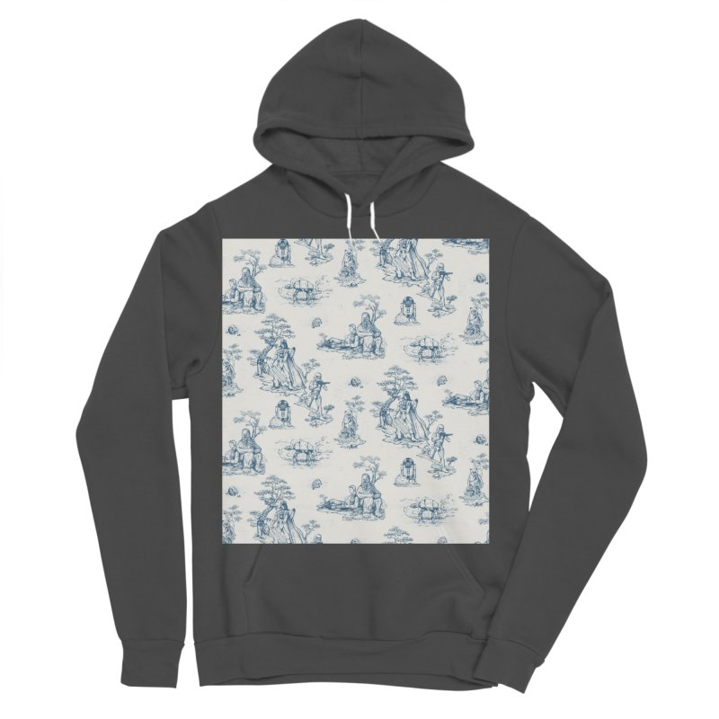 Toile de Star Wars Women's Sponge Fleece Pullover Hoody by anion2's Artist Shop