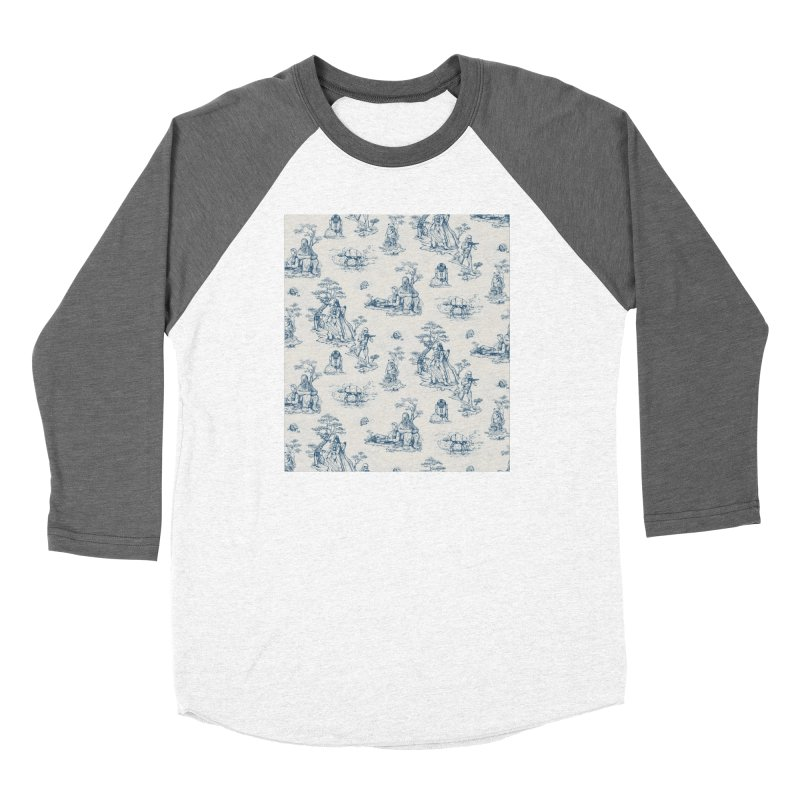 Toile de Star Wars Women's Baseball Triblend Longsleeve T-Shirt by anion2's Artist Shop