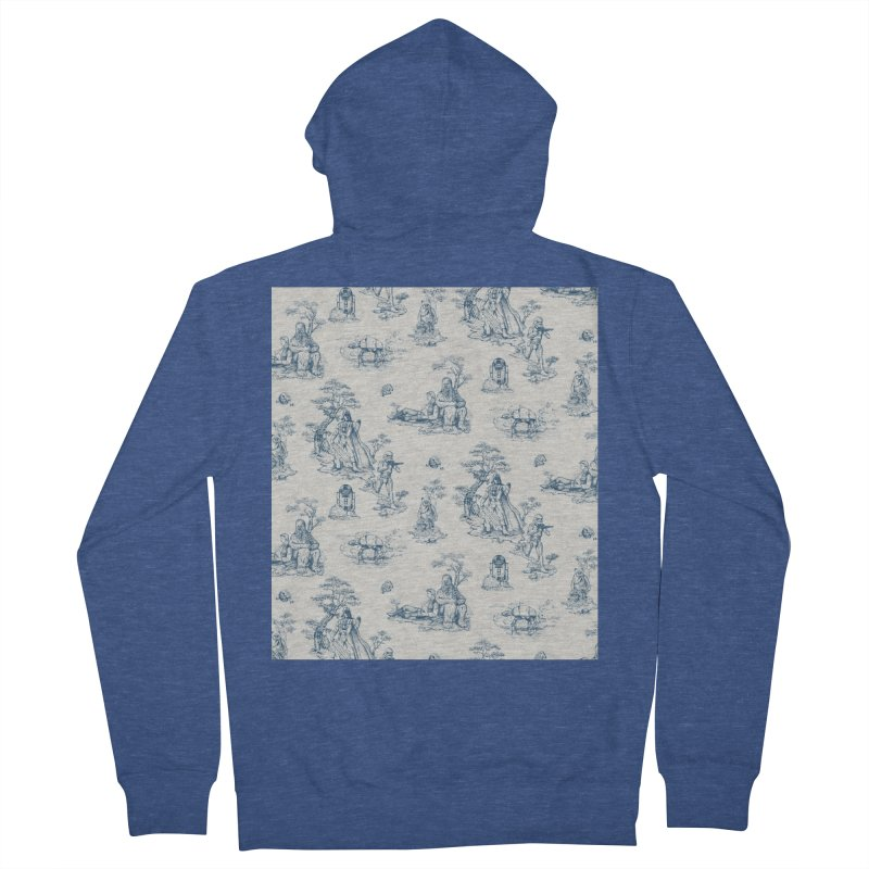 Toile de Star Wars Women's French Terry Zip-Up Hoody by anion2's Artist Shop