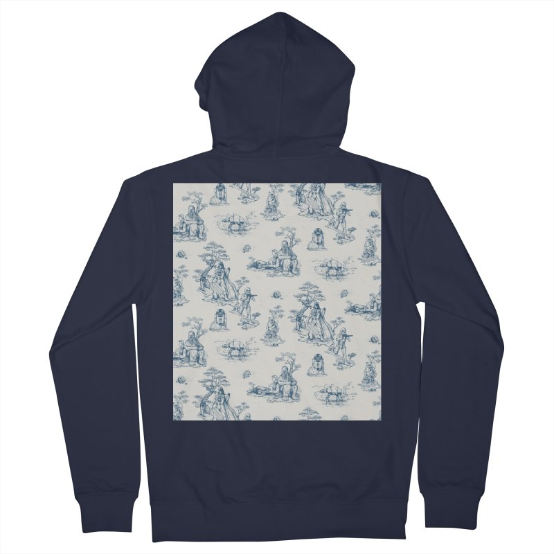 Toile de Star Wars Women's Zip-Up Hoody by anion2's Artist Shop