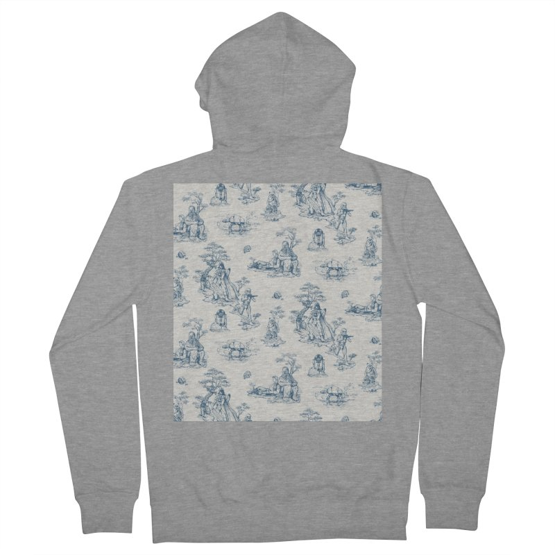 Toile de Star Wars Men's French Terry Zip-Up Hoody by anion2's Artist Shop