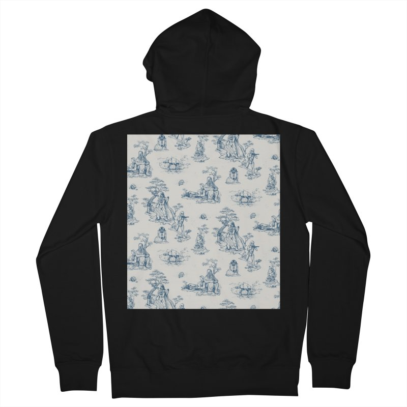 Toile de Star Wars Men's Zip-Up Hoody by anion2's Artist Shop