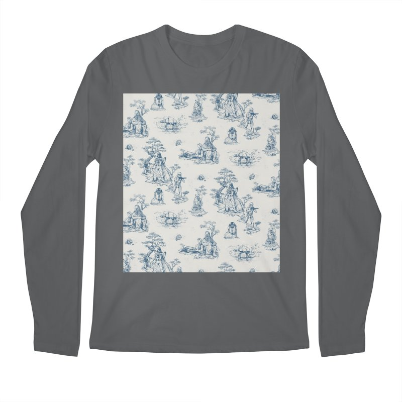 Toile de Star Wars Men's Regular Longsleeve T-Shirt by anion2's Artist Shop