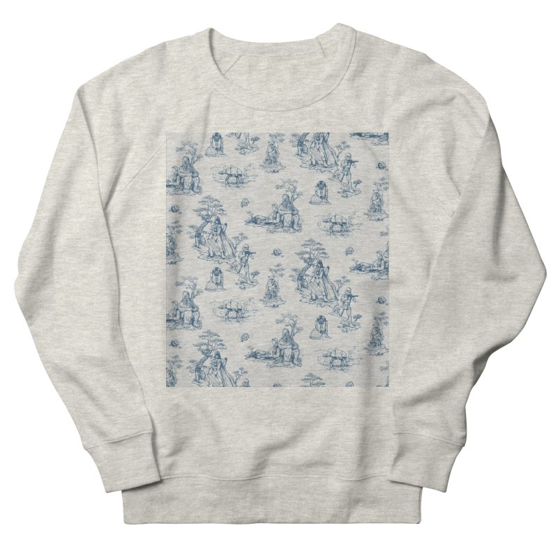 Toile de Star Wars Men's French Terry Sweatshirt by anion2's Artist Shop