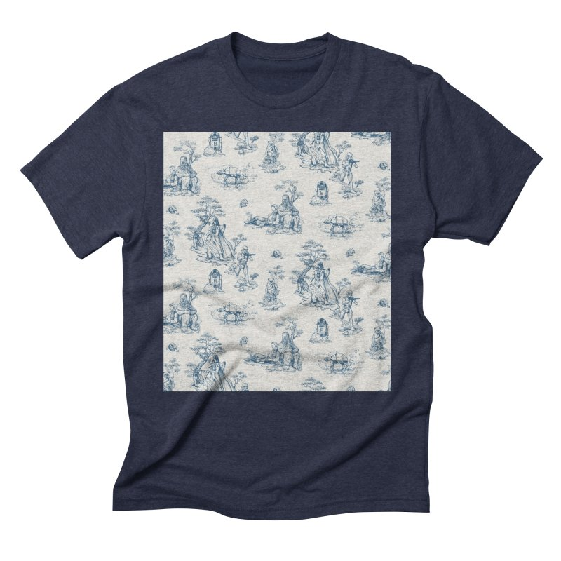 Toile de Star Wars Men's Triblend T-Shirt by anion2's Artist Shop