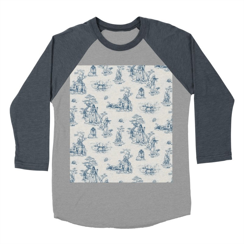 Toile de Star Wars Men's Baseball Triblend Longsleeve T-Shirt by anion2's Artist Shop