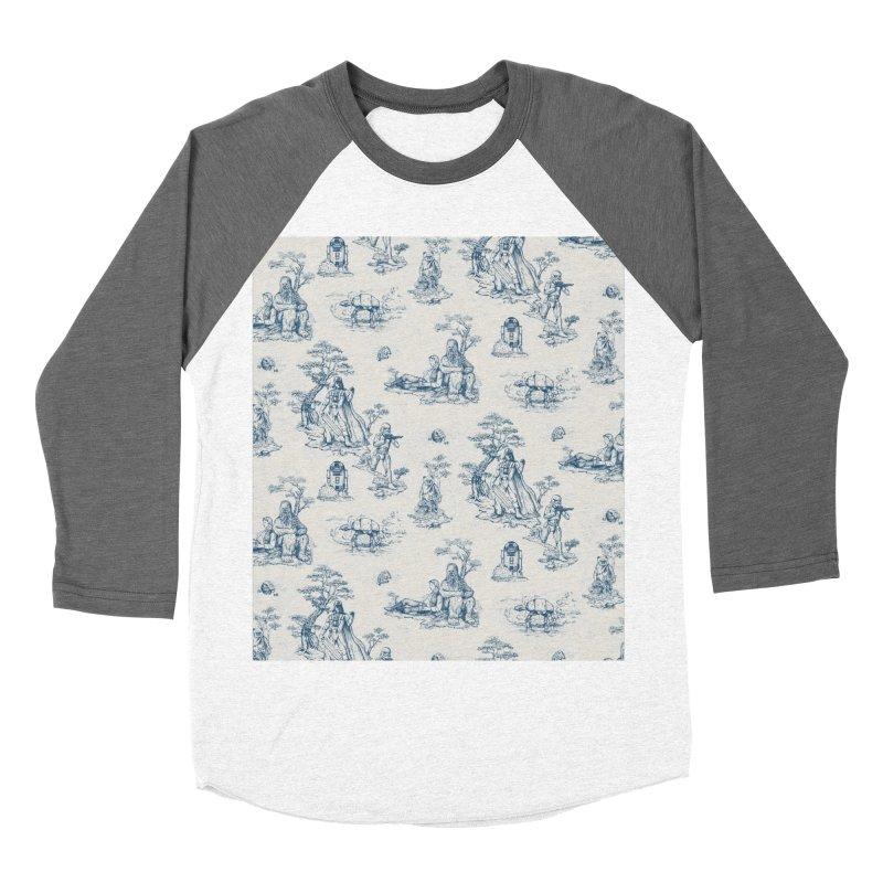 Toile de Star Wars Men's Baseball Triblend Longsleeve T-Shirt by anion2's Artist Shop
