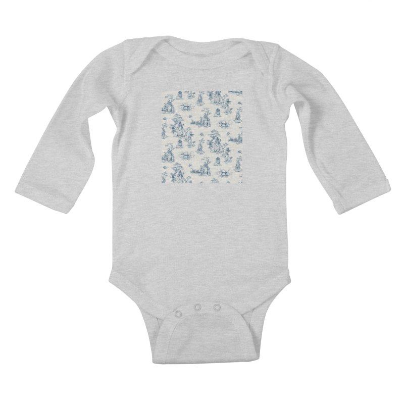 Toile de Star Wars Kids Baby Longsleeve Bodysuit by anion2's Artist Shop