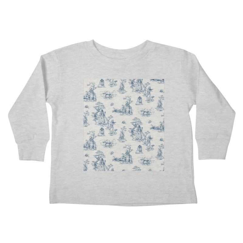 Toile de Star Wars Kids Toddler Longsleeve T-Shirt by anion2's Artist Shop