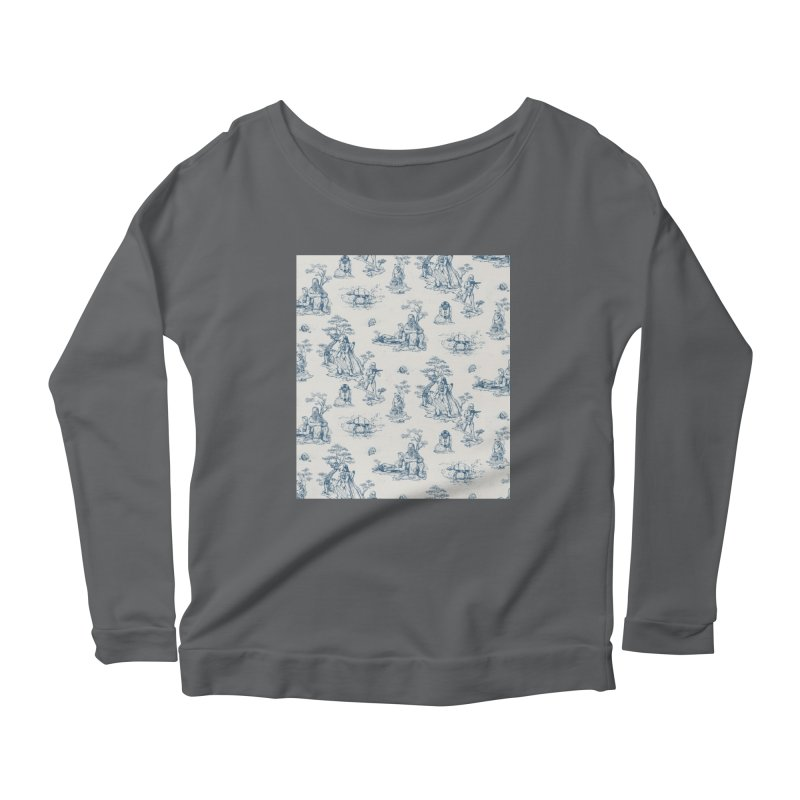 Toile de Star Wars Women's Scoop Neck Longsleeve T-Shirt by anion2's Artist Shop