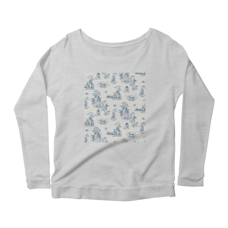 Toile de Star Wars Women's Scoop Neck Longsleeve T-Shirt by anion2's Artist Shop