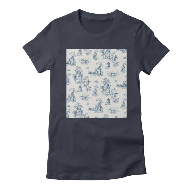Toile de Star Wars Women's T-Shirt by anion2's Artist Shop