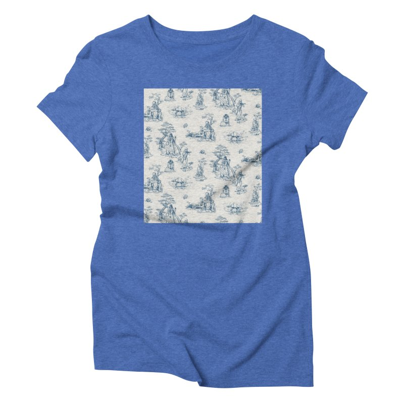 Toile de Star Wars Women's Triblend T-Shirt by anion2's Artist Shop