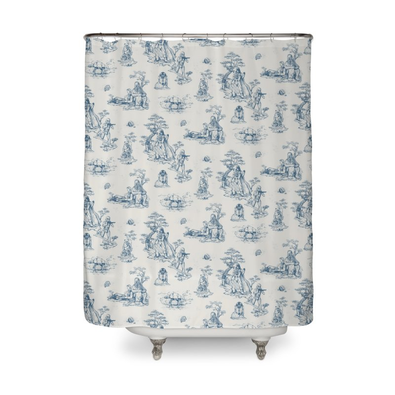 Toile de Star Wars Home Shower Curtain by anion2's Artist Shop