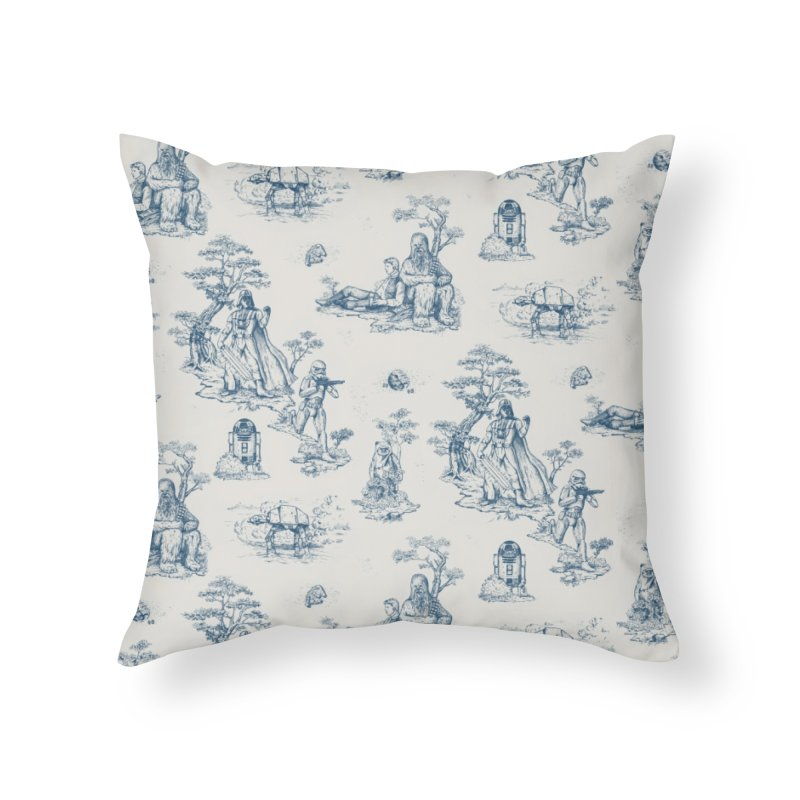 Toile de Star Wars Home Throw Pillow by anion2's Artist Shop