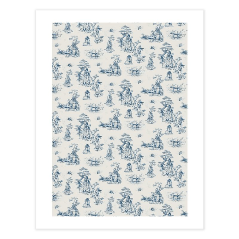 Toile de Star Wars Home Fine Art Print by anion2's Artist Shop