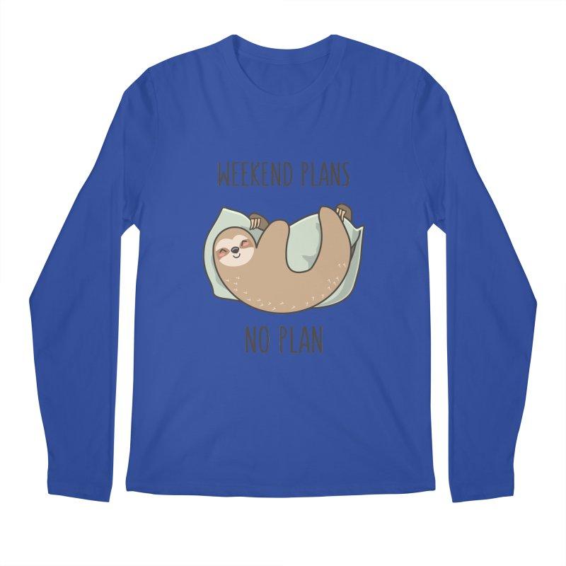 Weekend Plans Men's Longsleeve T-Shirt by anishacreations's Artist Shop