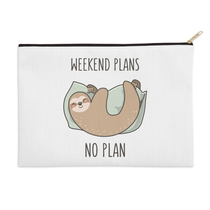 Weekend Plans Accessories Zip Pouch by anishacreations's Artist Shop