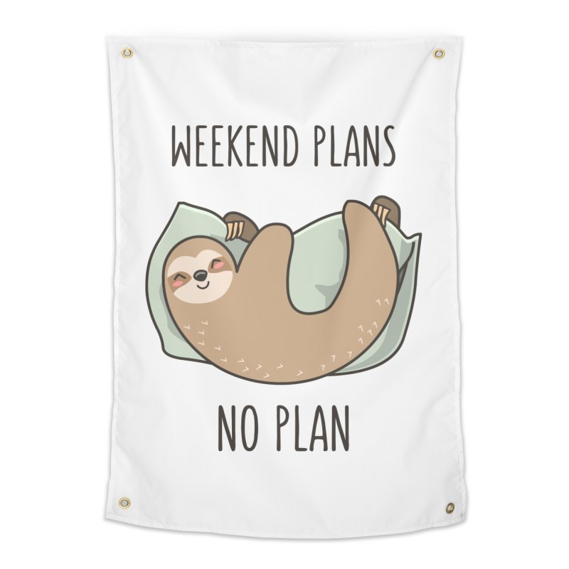 Weekend Plans Home Tapestry by anishacreations's Artist Shop