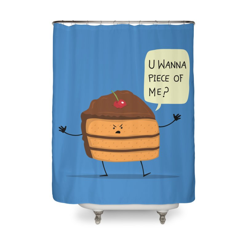 Trouble Baker Home Shower Curtain by anishacreations's Artist Shop