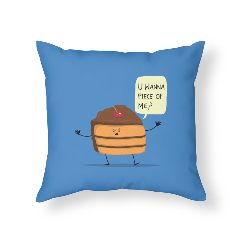 Trouble Baker Home Throw Pillow by anishacreations's Artist Shop