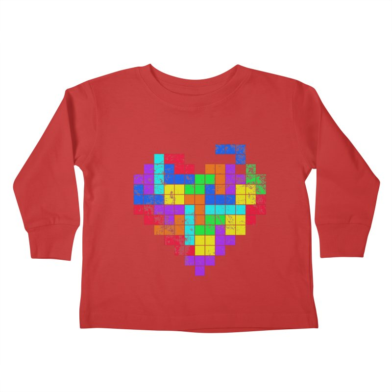 The Game of Love Kids Toddler Longsleeve T-Shirt by anishacreations's Artist Shop