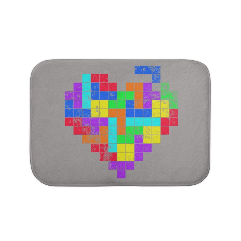 The Game of Love Home Bath Mat by anishacreations's Artist Shop