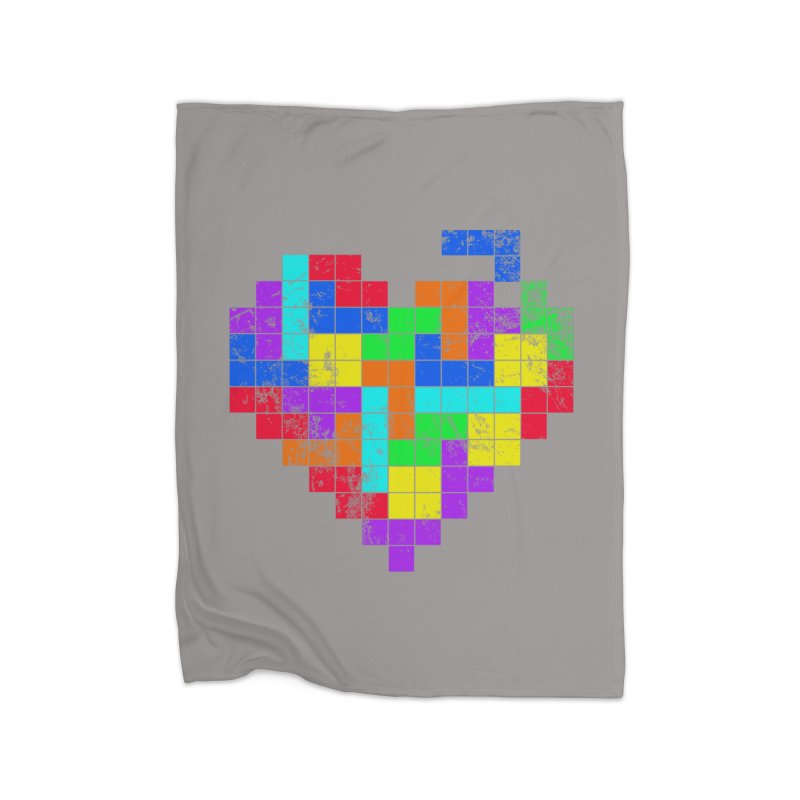 The Game of Love Home Fleece Blanket Blanket by anishacreations's Artist Shop