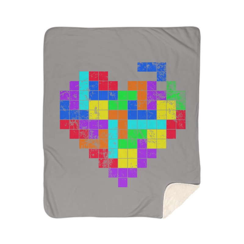 The Game of Love Home Sherpa Blanket Blanket by anishacreations's Artist Shop
