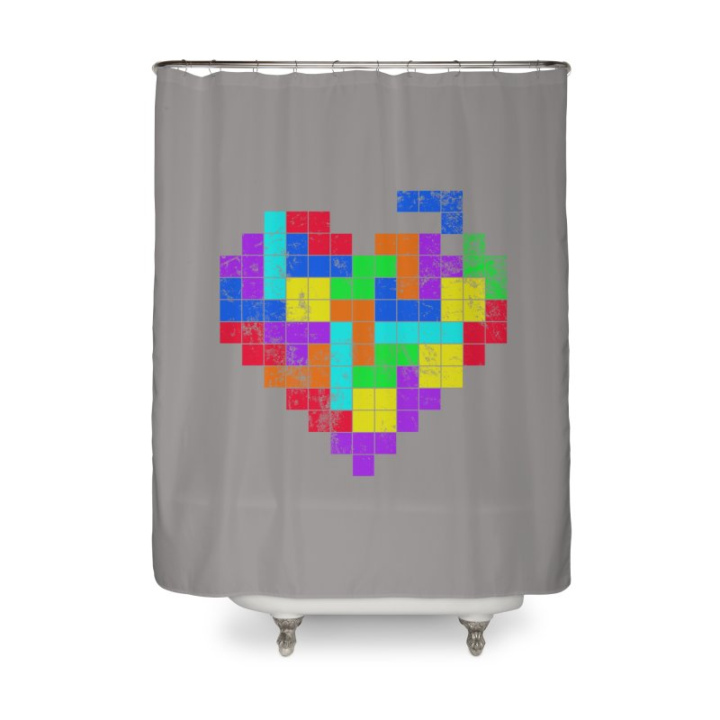The Game of Love Home Shower Curtain by anishacreations's Artist Shop