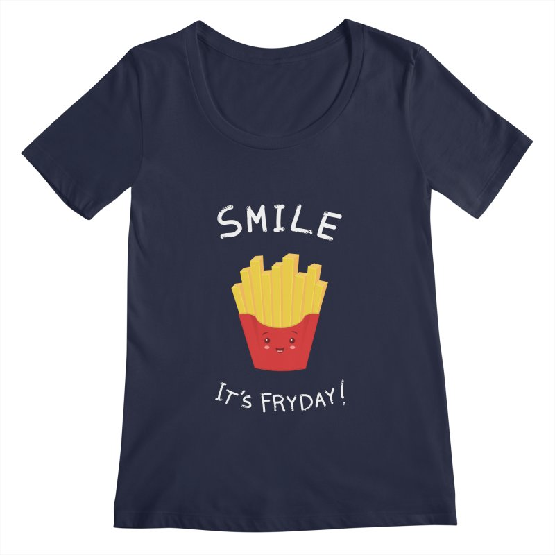 The Best Day! Women's Scoopneck by anishacreations's Artist Shop