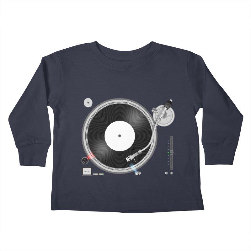 Turntable Kids Toddler Longsleeve T-Shirt by anishacreations's Artist Shop