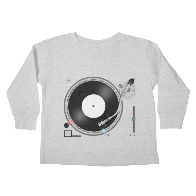Turntable Kids Toddler Longsleeve T-Shirt by anishacreations's Artist Shop