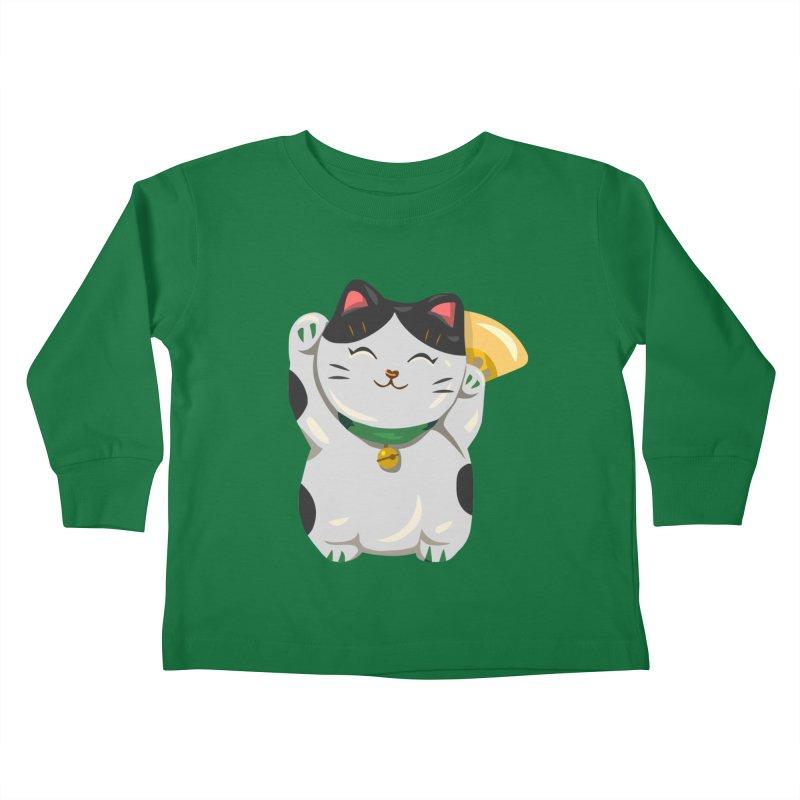 "FortuNEKO: ""Bubbles"" Kids Toddler Longsleeve T-Shirt by anishacreations's Artist Shop"