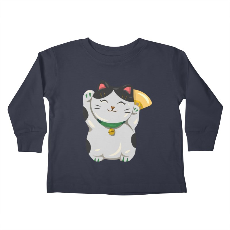 "FortuNEKO: ""Bubbles"" Kids Toddler Longsleeve T-Shirt by anishacreations's Artist Shop"