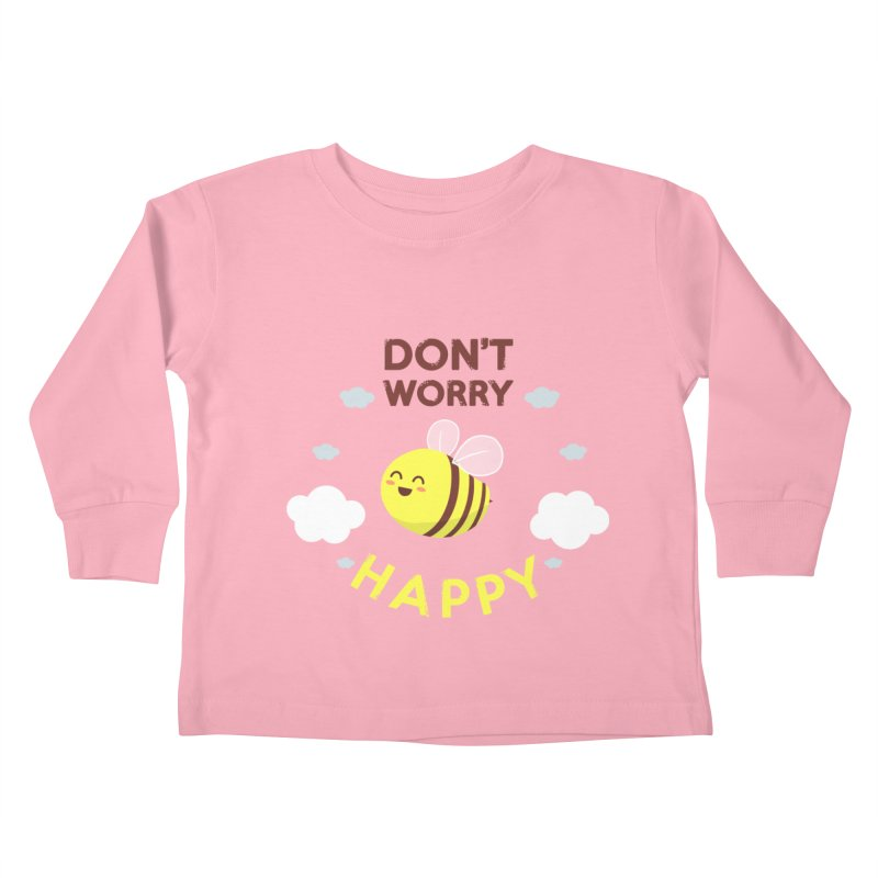Buzzing Life! Kids Toddler Longsleeve T-Shirt by anishacreations's Artist Shop