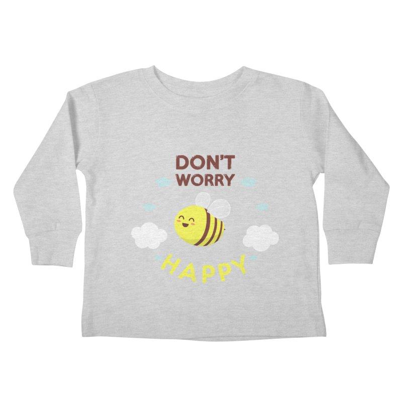 Buzzing Life! Kids Toddler Longsleeve T-Shirt by anishacreations's Artist Shop