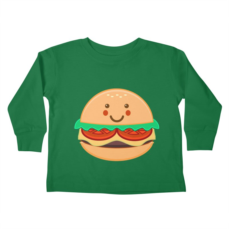 BURGER Kids Toddler Longsleeve T-Shirt by anishacreations's Artist Shop